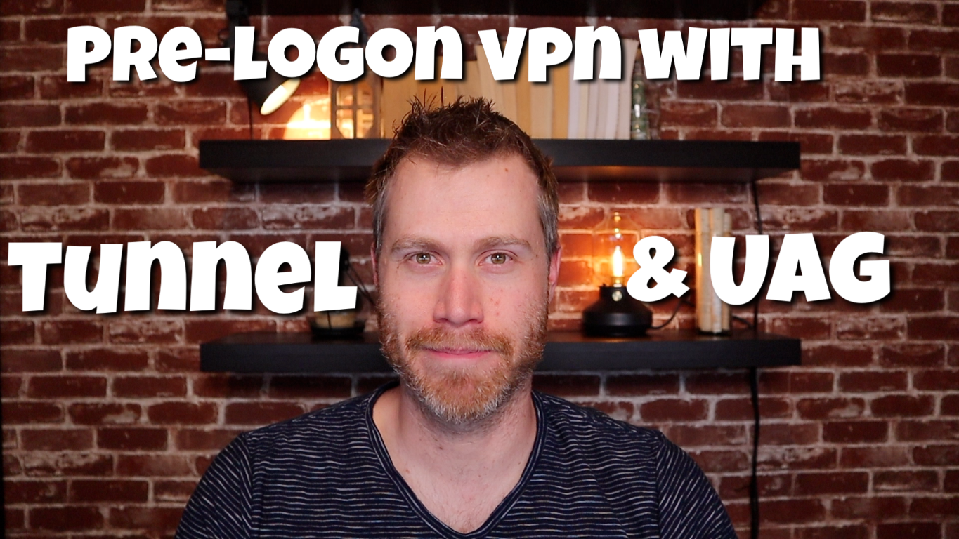 How to setup Pre-Logon VPN with VMware Tunnel